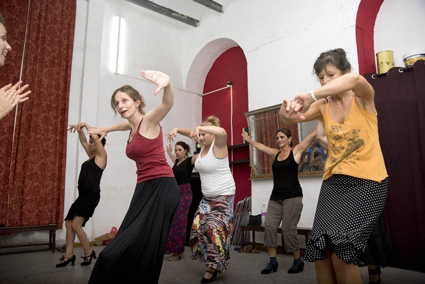 Flamenco Studio Seville | Workshop with Eva Verbruggen