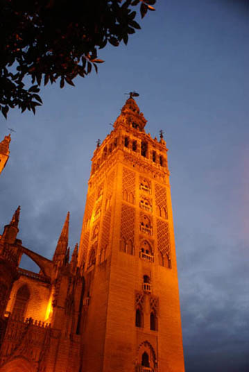 flamenco-studio-seville-trips-giralda-night