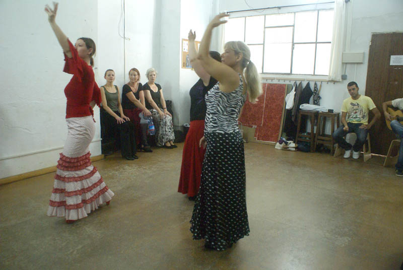 Flamenco Studio Seville classes